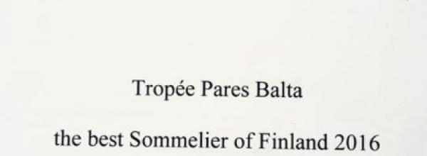 Trophée Pares Balta Jyväskylän osakilpailun koe