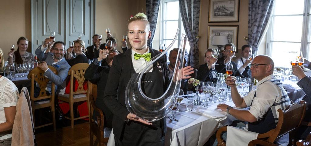 Sommelier Kirsi Seppänen