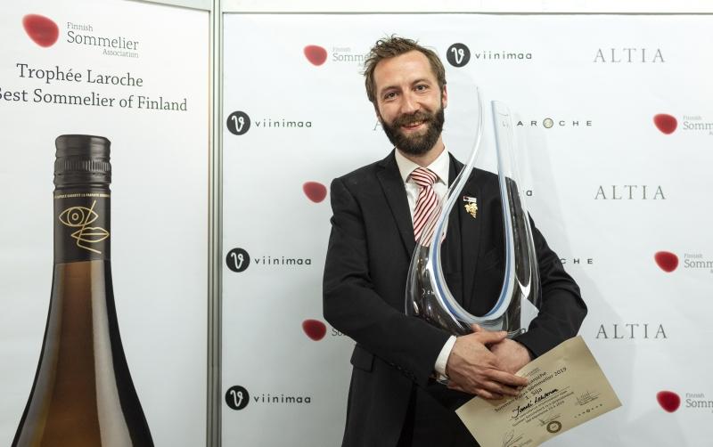 Sommelier Taneli Lehtonen