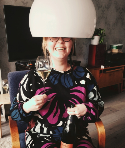 Sommelier Johanna Piirainen
